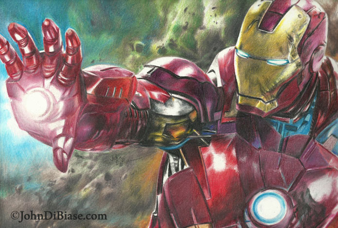 Avengers Pencil Drawing i Laid This Drawing of