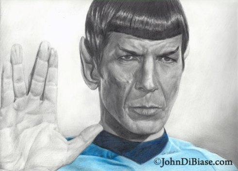 Spock by John DiBiase