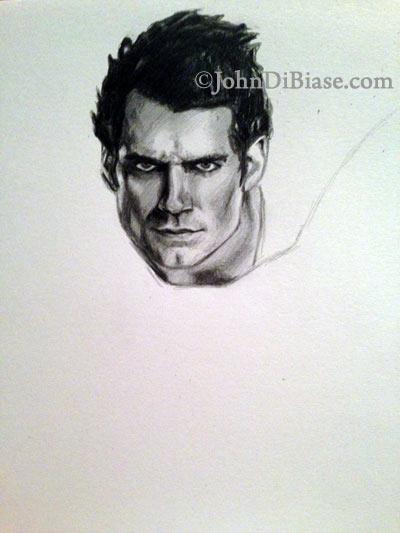 Superman-1-by-John-DiBiase
