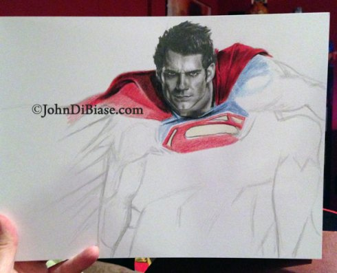 Superman-4-by-John-DiBiase